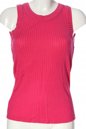 Zara Basic Trägertop pink Casual-Look