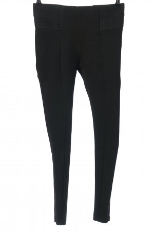 Zara Basic Tregging zwart casual uitstraling