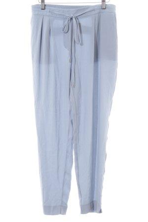 Zara Basic Treggingsy niebieski W stylu casual