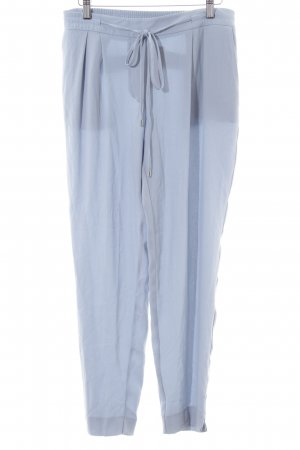 Zara Basic Treggings blau Casual-Look