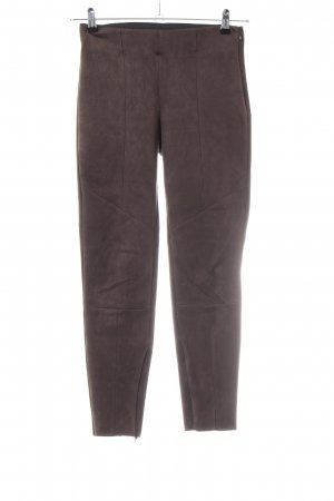 Zara Basic Treggings marrón look casual