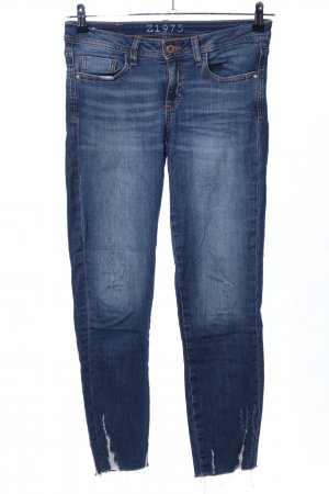 Zara Basic Treggings blu stile casual