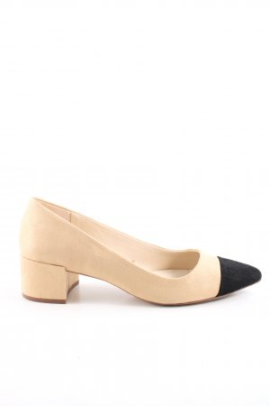 Zara Basic Loafers cream-black casual look