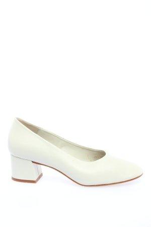 Zara Basic Loafers white business style