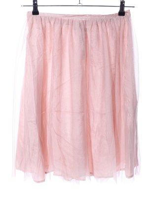Zara Basic Tüllrock pink Casual-Look