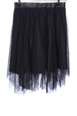 Zara Basic Tulle Skirt black extravagant style