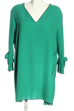 Zara Basic Tuniekblouse groen casual uitstraling