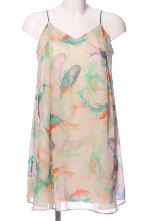 Zara Basic Tunikabluse abstraktes Muster Casual-Look