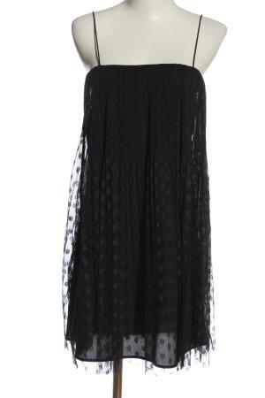 Zara Basic Trägerkleid schwarz Casual-Look