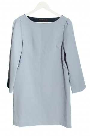 Zara Basic Abito a tunica grigio chiaro stile casual