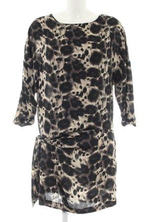 Zara Basic Tunikakleid Allover-Druck Casual-Look