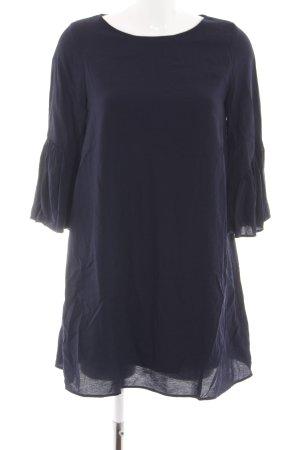 Zara Basic Tunikakleid blau Casual-Look