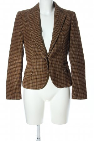 Zara Basic Blazer en tweed imprimé allover style d'affaires