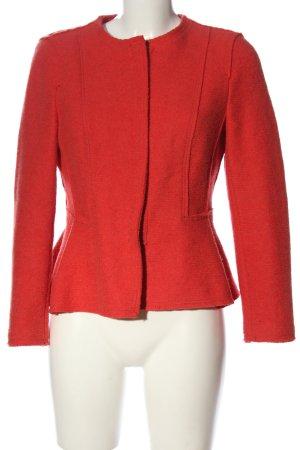 Zara Basic Kurtka przejściowa czerwony W stylu biznesowym