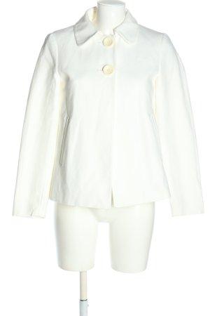 Zara Basic Kurtka przejściowa biały W stylu casual