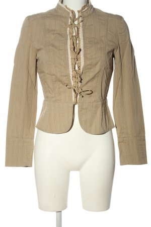 Zara Basic Kurtka przejściowa kremowy-w kolorze białej wełny