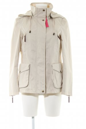 Zara Basic Übergangsjacke wollweiß Casual-Look