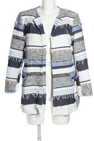 Zara Basic Übergangsjacke Allover-Druck Casual-Look