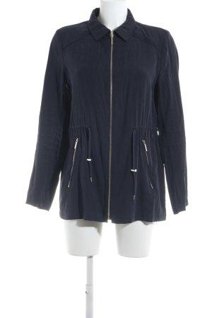 Zara Basic Übergangsjacke dunkelblau Casual-Look