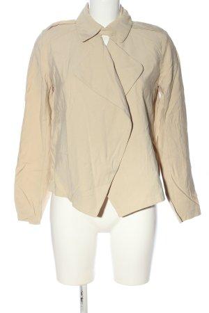 Zara Basic Kurtka przejściowa w kolorze białej wełny W stylu casual