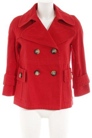 Zara Basic Übergangsjacke rot Paris-Look