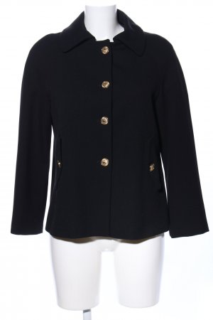 Zara Basic Giacca mezza stagione nero stile casual