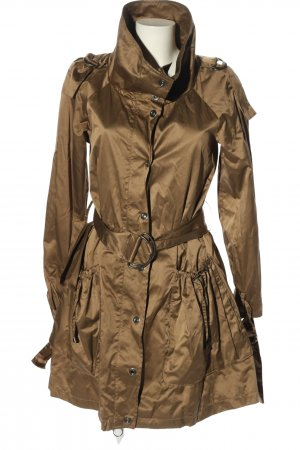 Zara Basic Übergangsmantel bronzefarben Casual-Look
