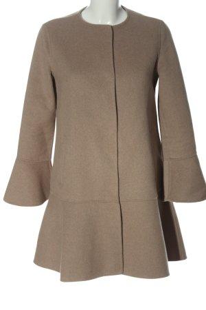 Zara Basic Übergangsmantel braun Elegant