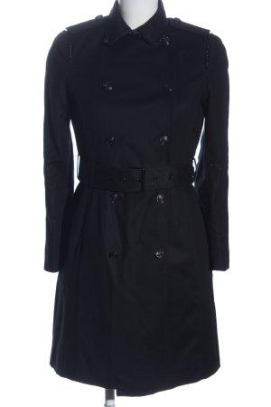 Zara Basic Übergangsmantel blau Casual-Look