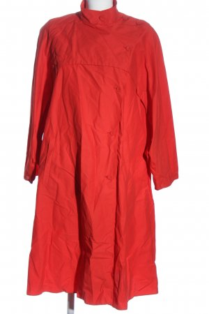 Zara Basic Übergangsmantel rot Casual-Look