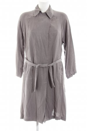 Zara Basic Übergangsmantel grau Casual-Look