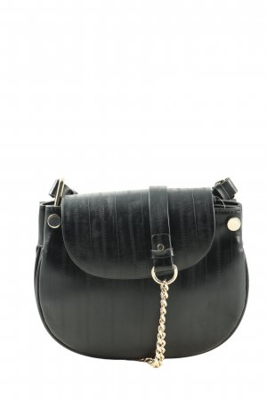 Zara Basic Umhängetasche schwarz Casual-Look