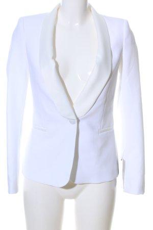 Zara Basic Unisex blazer wit extravagante stijl