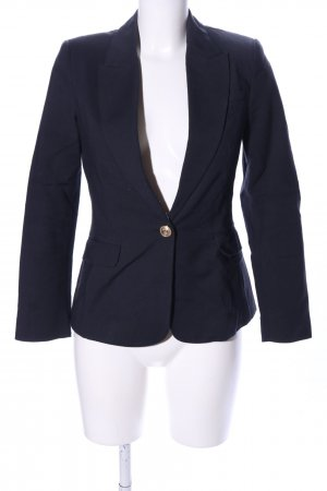 Zara Basic Unisex-Blazer blau Business-Look