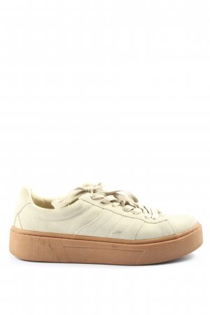 Zara Basic Wedge Sneaker white casual look