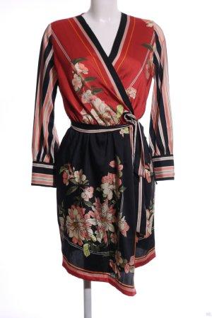 Zara Basic Wraparound flower pattern elegant