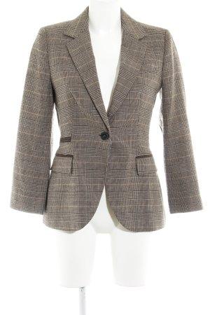 Zara Basic Woll-Blazer Karomuster Business-Look