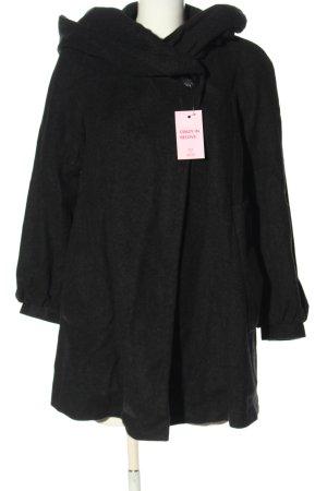 Zara Basic Wełniany sweter czarny W stylu casual