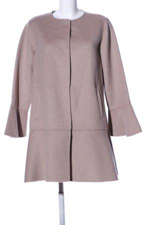 Zara Basic Wollmantel pink Business-Look