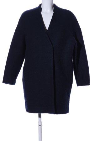 Zara Basic Wollmantel schwarz Business-Look