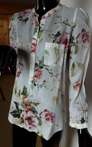 Zara Basic, wunderschöne leichte Baumwollbluse, Gr.S