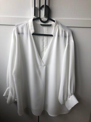 Zara Basics 3/4 Bluse weiß XS Neu!