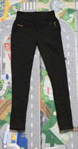 Zara Basic Stretch Trousers black