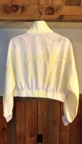 ZARA batik Jacke gr S M gelb rosa neu