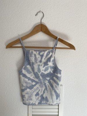 Zara Haltertop azuur-lichtblauw