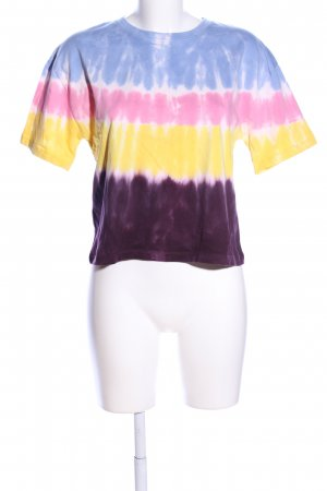 Zara Batik Shirt color gradient casual look