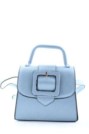Zara Bauchtasche blau Casual-Look