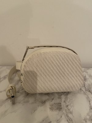 Zara Bumbag white mixture fibre