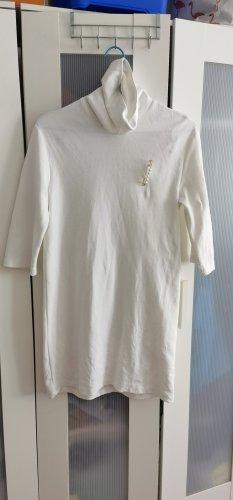 Azara Paris Swetrowa sukienka biały Bawełna