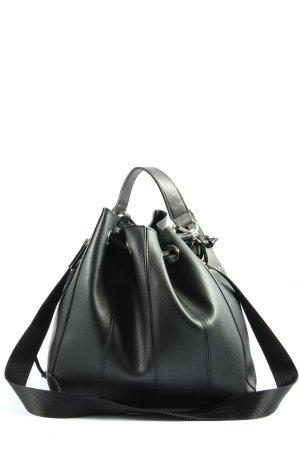 Zara Beuteltasche schwarz Casual-Look